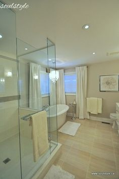 Check out this lovely neutral bathroom renovation! Lovely changes to make a beautiful spa like bathroom! Girls Bedroom, Bedroom Decor, Bedroom Sets, Bedroom Furniture, Furniture Design, Decor Inspiration, Bathroom Inspiration, Decor Ideas, Decorating Ideas