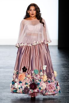 cf0e4c4a75975 Project Runway - Runway - Spring 2016 New York Fashion Week  The Shows Plus  Size