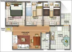Modelos de Casas Pequenas e Baratas para construir! | Meia Colher