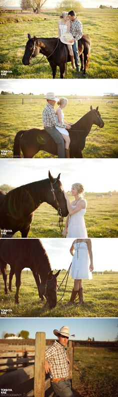 wester photo with horse