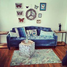 Novogratz Vintage Tufted Sofa Sleeper II, Multiple Colors