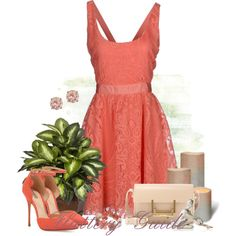 A fashion look from July 2014 featuring Alice + Olivia dresses, Schutz pumps and Yves Saint Laurent shoulder bags. Browse and shop related looks.