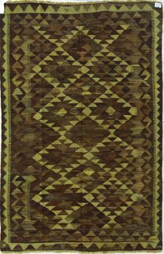 $318 5ft3in x 8ft1in Rugs USA Overdye Hamshire Light Olive Rug
