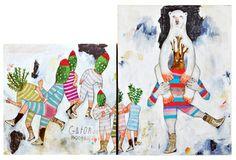 "Saatchi Art Artist Kelly Puissegur; Painting, ""Gator Boots"" #art"