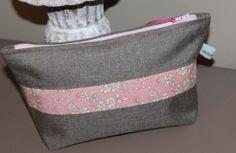 Estuche ❤❤ Zipper Pouch Tutorial, Liberty Print, Pouch Bag, Diaper Bag, Sewing, Anna, Craft Ideas, Crafts, Fashion