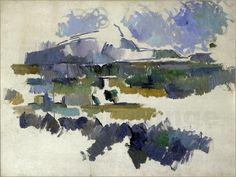 Paul Cézanne - Montagne Sainte-Victoire