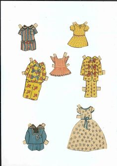 Pippi Longstocking, clothes for Tommy-and-Annika.