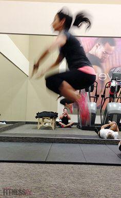 Kick Up Your Cardio: Blast calories with Tabata plyometric intervals!