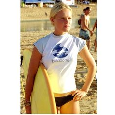 """RARE Billabong """"Blue Crush"""" rash guard! RARE Billabong """"Blue Crush"""" rash guard as seen on Kate Bosworth! Gently worn once and in great condition. Looks small but stretches to fit a women's XS! Tag says small but really it fits more like a petite XS. Any questions please ask. BUNDLE and SAVE! Billabong Tops Crop Tops"""