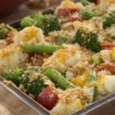 Baked Veggie Casserole Recipe | Just A Pinch Recipes