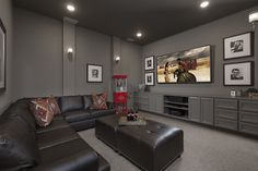 I Love this Large Home Theater