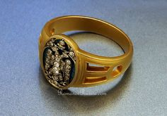 Faberge Russian Imperial 14k Gold Ring 1915.......