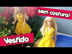 Como fazer Biquíni de bexigas para Barbie - How to make bikini for Barbie - YouTube