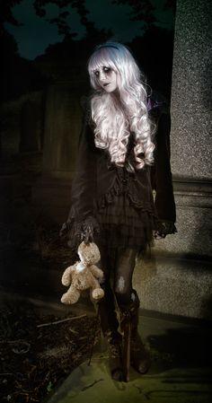 Themed performances? creepy mysterious beauty