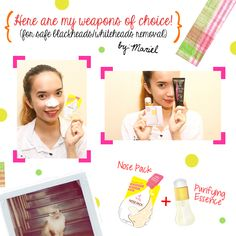 iWhite Nose Pack review of Mariel http://wickedying.com/iwhite-korea-nose-pack-whiteheads-and-blackheads-remover-review/