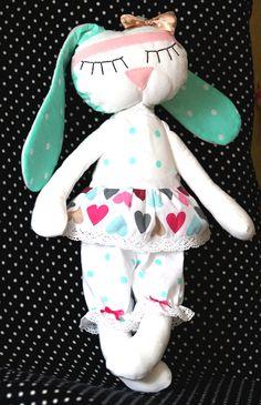 Текстильный заяц, сплюшка, комфортер