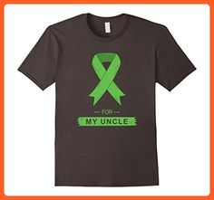 Mens Green Ribbon For My Uncle Shirts 2XL Asphalt - Relatives and family shirts (*Partner-Link)