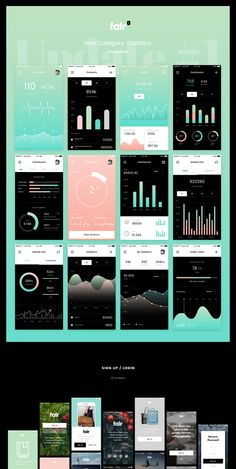 Amazing stylish 140+ mobile screens