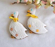 Velikonoční dekorace - husa