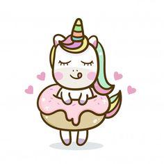 Ilustración de dibujos animados lindo de unicornio  serie ilustración de un  pony de cuento de 161f624a7f13