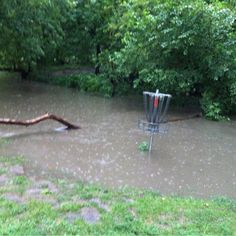 In Disc golf i'm still not sure what #casual #water means.