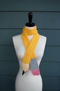 Crochet Pencil Scarf Pattern Lilla Dolce | eBay