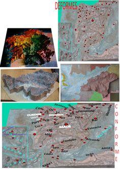 Artes Geo Historia: 3d Maps: España, Portugal & Others