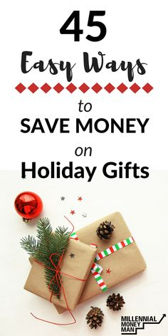 tips to save money, save money on gifts, easy ways to save money, simple ways to save money on gifts, save money on Christmas gifts, #savemoney, #giftideas