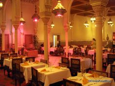 Restaurant Marrakesh in the Morocco District of Epcot Center. (Disney World)
