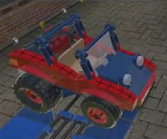 Spider-Mobile from the Lego Marvel Superheroes game