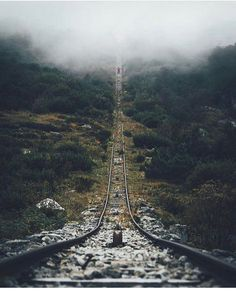 The rails less traveled  || Captured by @lennart #LensDistortions