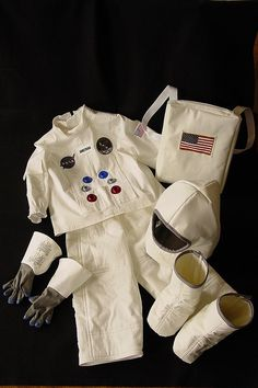 One of the best costumes I'd ever made, Neil Armstrong...