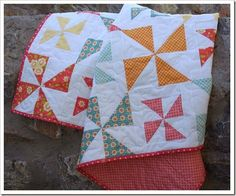 Pretty Pinwheels Quilt