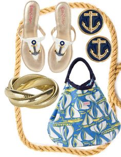 nautical with lilly p