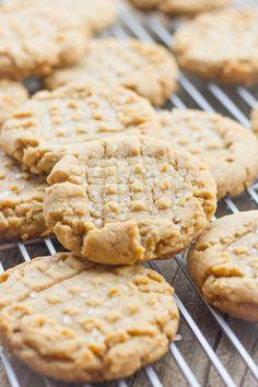 Brown Butter Peanut Butter Cookies