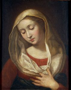scipione pulzone | Our Lady of Sorrows by Scipione Pulzone known as Il Gaetano, oil on ...