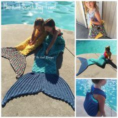 Je waant jezelf als een echte zeemeermin met deze gehaakte handdoeken(MET PATROON) - Pagina 4 van 4 - Zelfmaak ideetjes