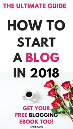 How To Start A Blog for new beginners In 2018? Starting a blog and coming up with blogging ideas can be a tricky decision. This step by step blogging guide is free to use to create your own blog. How to Start a Blog for the New Beginner Blogger. Do you want to start a blog? | Start a wordpress blog for beginners | create a website | start your own blog 2018 | Create your own blog in less than 20 minutes - A full comprehensive guide + Download a free blogging ebook