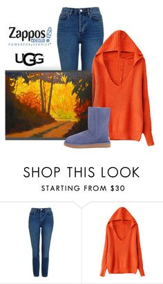 """The Icon Perfected: UGG Classic II Contest Entry"" by patricia-dimmick on Polyvore featuring Topshop, ADAM, UGG Australia, Boots, ugg and contestentry"