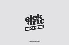 Elektric Brothers - DJ - Logo - Design - Identity - Branding - Collection