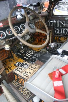 Rat Rod with cool plate interior