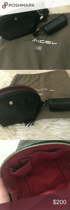 Make up bags Bought in Russia used only twice Lancel Bags Cosmetic Bags & Cases