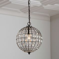 Found it at Joss & Main - Laurie Crystal Mini Pendant