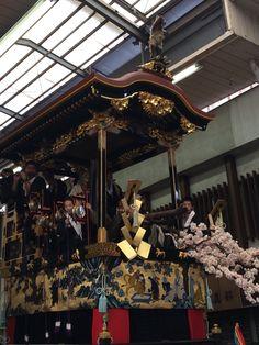 西行桜狸山 大津祭 Otsu shiga Japan