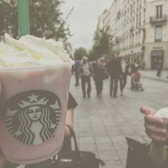 #Lyon #Icecream #Background #Wallpaper #city #Starbucks #Strawberry #Goodlife