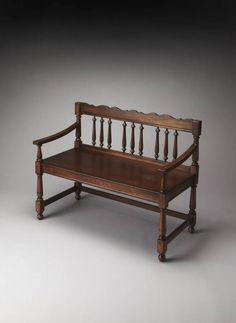 Butler Cather Bench, As Shown woodworking bench woodworking bench bench base bench diy bench garage workbench bench plans bench plans australia bench plans roubo bench plans sketchup Accent Furniture, Home Furniture, Colonial Furniture, Bedroom Furniture, Butler, Build Your Own Garage, Antique Bench, Bench With Back, Online Interior Design Services