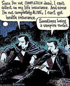 Vampyre Fan: Funny VAMPIRE Humor Photos & Comic Strip