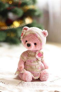 Teddy bear handmade.  Fair Masters - handmade Agatha.  Handmade.