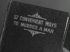 ((Open RP be her, no romance just fun.)) He picked up the book and turned it around so the cover was looking up at him. His eyes glared at the small font in confusion as to why she had this book laying around her motel room. Hearing the door click behind him he turned and faced the girl as she walked in. Usually, he would shoot the girl to complete his mission, however this did not seem like the fun option so he smiled at her and set the book down. (Credit to @CharlotteKiller)