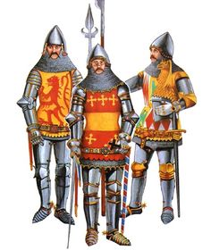 • George Felbrigge, c. 1400  • Thomas Beauchamp, K. G.  • John de Montacute, K. G.